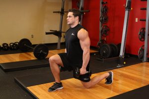 Extreme Dumbbell Lunges Exercises