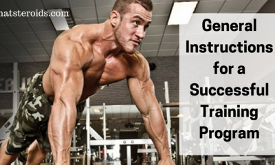 General Instructions for a Successful Training Program