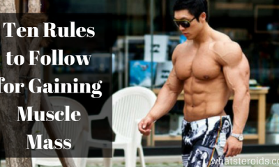 Ten Rules to Follow for Gaining Muscle Mass