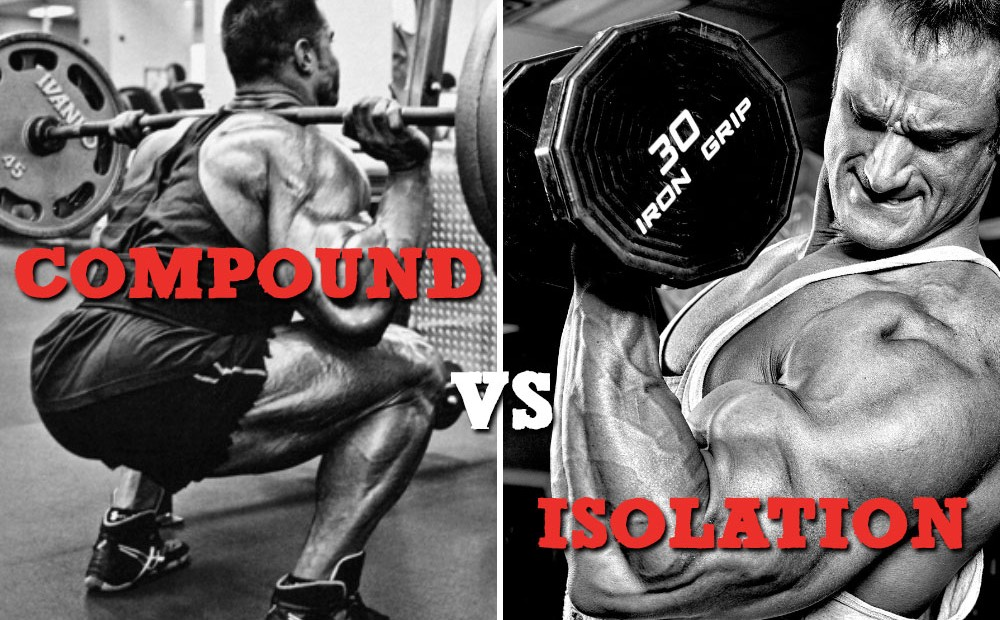 Compound and Isolation Exercises Weightlifting