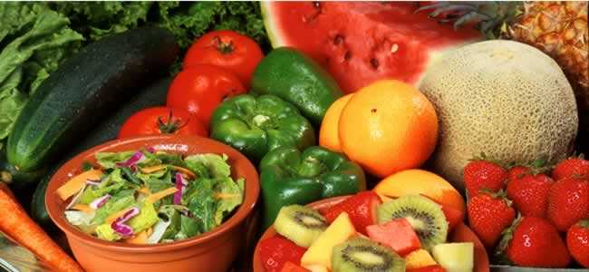 Fresh Fruits and Vegetable: