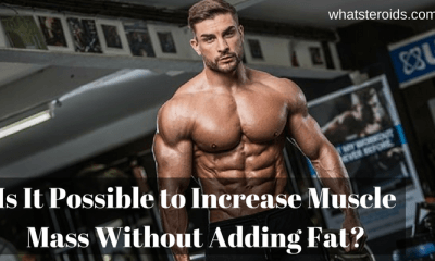 Is It Possible to Increase Muscle Mass Without Adding Fat?