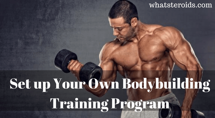 How to Set up Your Own Bodybuilding Training Program