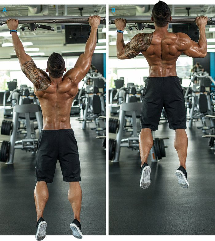 Pull Back on Top Exercise