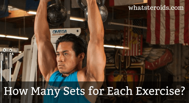 How Many Sets for Each Exercise?