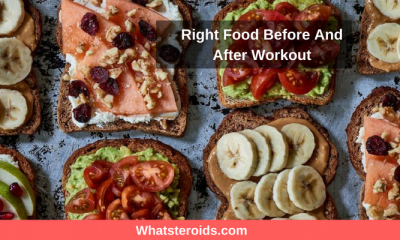 Right Food Before And After Workout