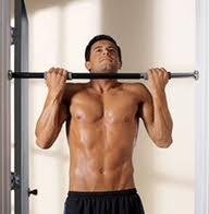 bodyweight exercises -pullups