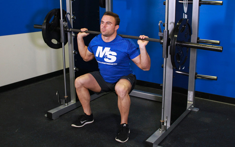 Smith Machine Squats