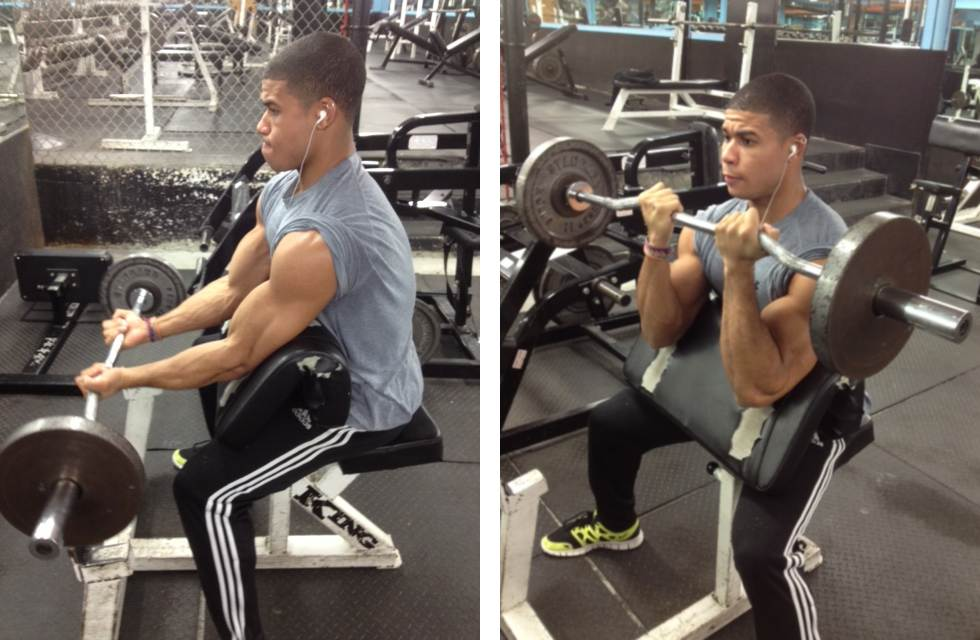 Who can do Preacher Bench Curls?