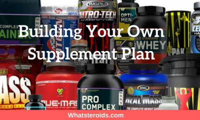 Building Your Own Supplement Plan