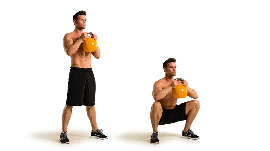 Goblet Squat Exercise Technique: