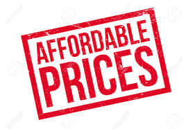 Affordable prices