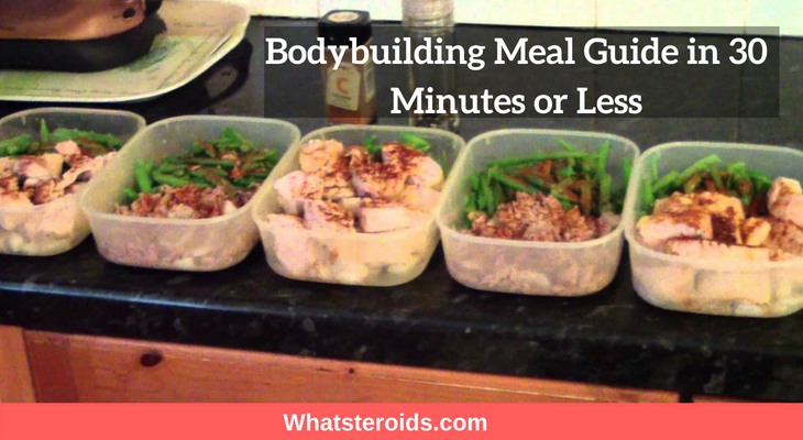 Bodybuilding Meal Guide in 30 Minutes or Less
