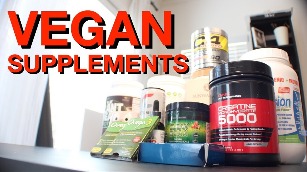 Supplements for Vegan Bodybuilders