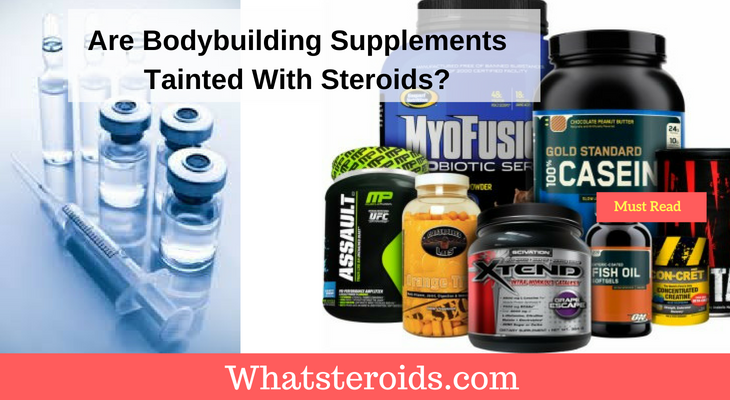 Supplements Tainted With Steroids