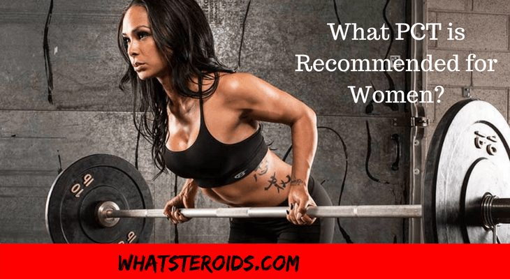Which of the Post Cycle Therapy is Recommend for Women?
