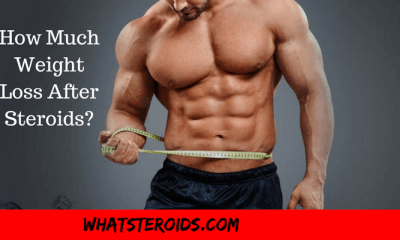 How Much Weight Loss After Steroids?