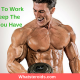 How Much To Work Out To Keep The Muscles You Have
