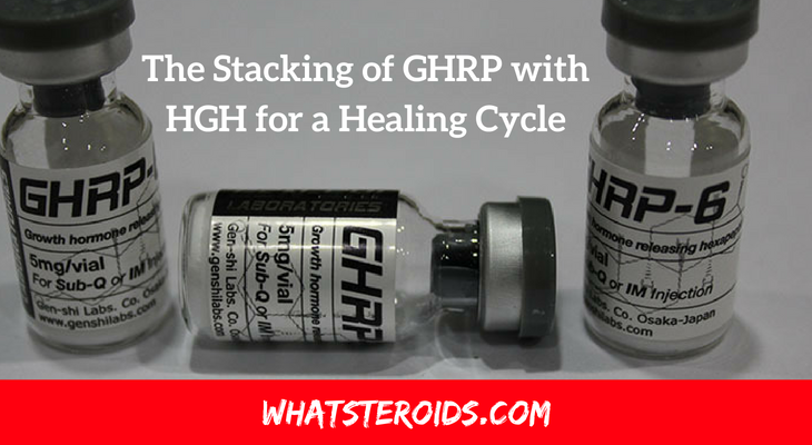 The Stacking of GHRP with HGH for a Healing Cycle