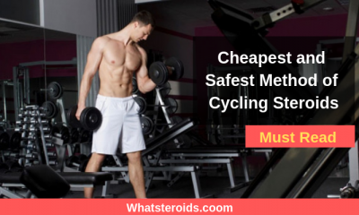 Cheapest and Safest Method of Cycling Steroids