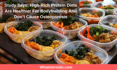 Study Says: High-Rich Protein Diets Are Healthier For Bodybuilding And Don't Cause Osteoporosis