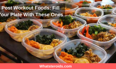 Post Workout Foods: Fill Your Plate With These Ones