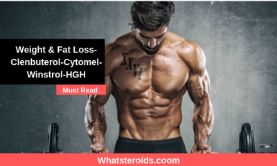 Weight & Fat Loss-Clenbuterol-Cytomel-Winstrol-HGH