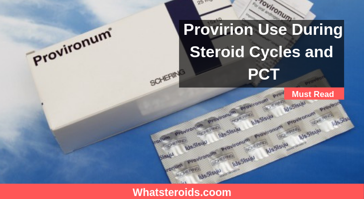 Provirion Use During Steroid Cycles and PCT