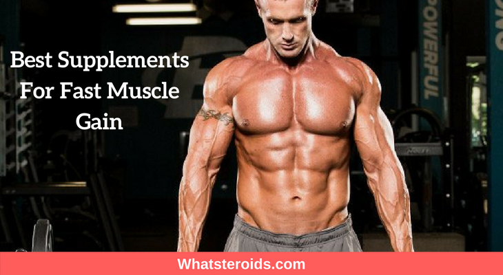 Best Supplements For Fast Muscle Gain