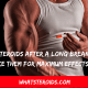 Back on Steroids After a Long Break: How To Take Them For Maximum Effects?