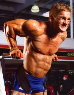 Peek you natural maximum before switching to steroids use.