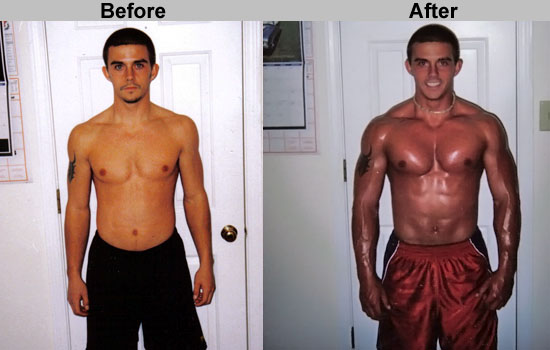 Trenbolone transformation: before and after