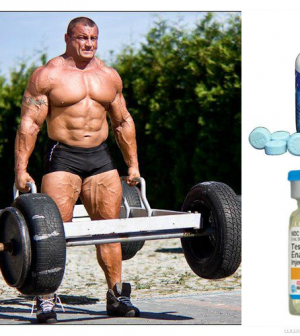8 Weeks Stack of Testosterone Enanthate & Dianabol - What