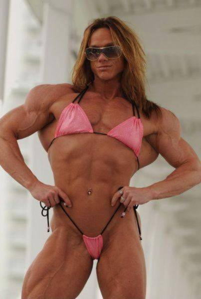 Remarkable, very naked bodybuilding women on steroids pity, that