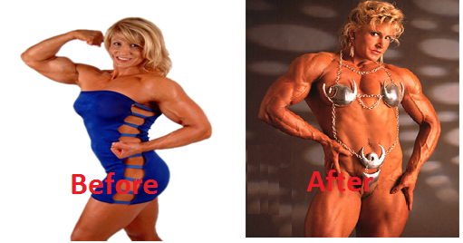 Top 4 Female BodyBuilders - What Steroids