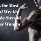 What's the Most Optimal Weekly Injectable Steroid Doses for Women