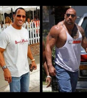 10 Examples of Hollywood Stars Steroid Transformation