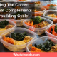 Incorporating The Correct Diet Plan That Complements Your Bodybuilding Cycle!