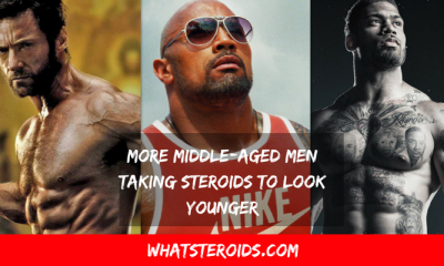 More Middle-Aged Men Taking Steroids to Look Younger