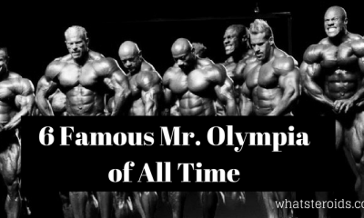 6 Famous Mr. Olympia of All Time