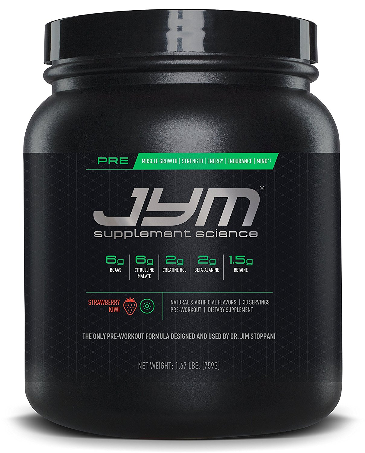 jYm pre-Workout Supplements