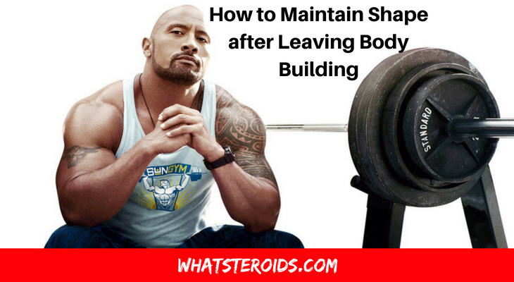How to Maintain Shape After Leaving Body Building