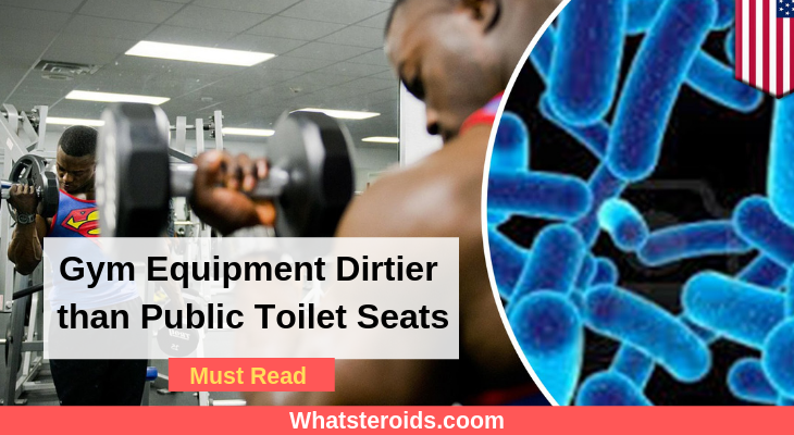 Gym Equipment Dirtier than Public Toilet Seats