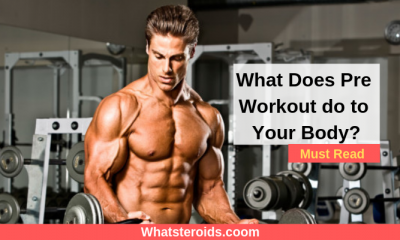 What Does Pre Workout do to Your Body?