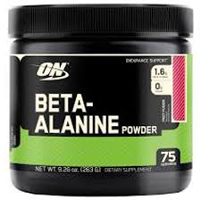 Beta-Alanine pre-Workout Supplements
