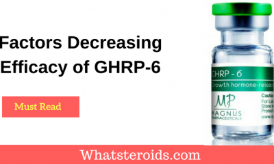 Factors Decreasing Efficacy of GHRP-6