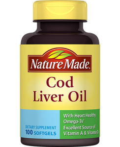 Cod Liver oil Supplements
