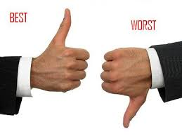 Worst and the Best