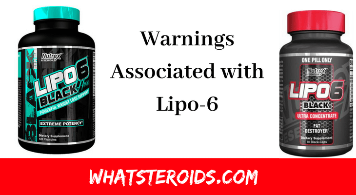 Warnings Associated with Lipo-6: