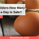Bodybuilders-How Many Eggs a Day Is Safe?